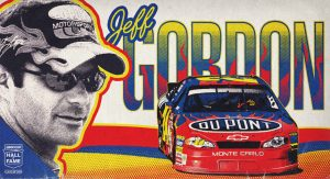 Jeff Gordon Hall of Fame graphic