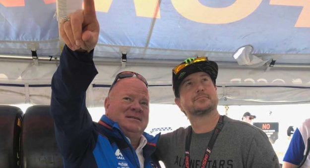 Kurt Busch at Daytona with Chip Ganassi