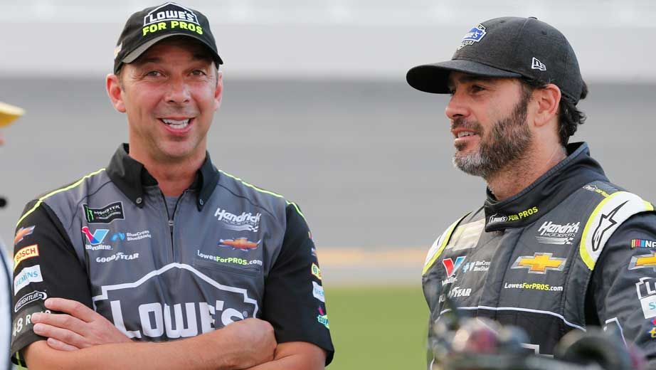 Johnson, Knaus maintain friendship as they chase different roles, own titles