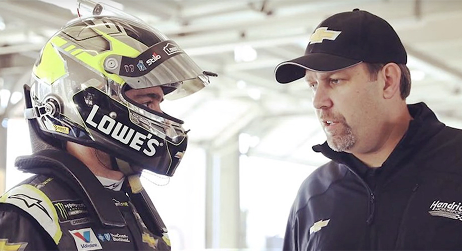 Meendering: My goal is to get Jimmie an eighth title