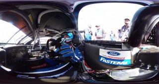 Ricky Stenhouse Jr. Daytona 360 Engine Start
