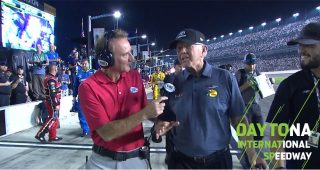 Joe Gibbs emotional after Hamlin's Daytona 500 win