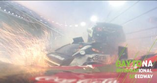 Watch in-car views of drivers in the 'Big One'