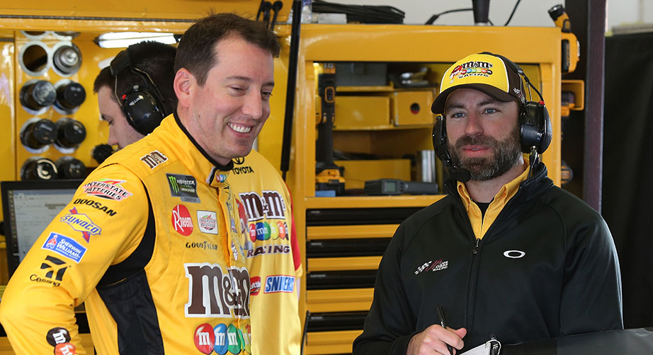 Kyle Busch, Joe Gibbs Racing and Mars announce extension