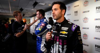 FOX NASCAR adds Jimmie Johnson, Chad Knaus; announces '19 drivers-only broadcast