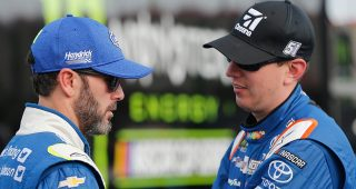 Kyle Busch on run-in with Jimmie Johnson: 'He texted me ... it is what it is'