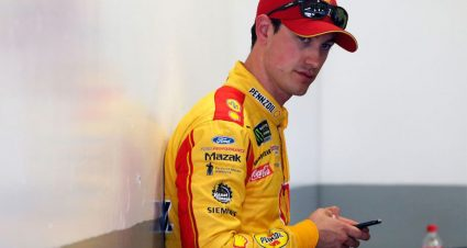Logano after confronting McDowell: 'We can't win these things alone'