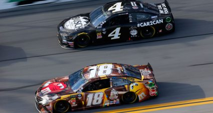 Kyle Busch, Ryan Blaney win stages in the 2019 Daytona 500