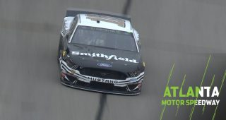 Almirola earns Busch pole, Stenhouse Jr. nabs second at Atlanta