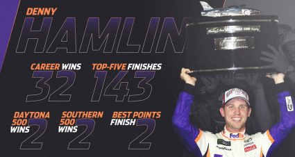 NASCAR Debate: Is Denny Hamlin a NASCAR Hall of Famer?