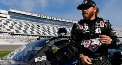 Jeffrey Earnhardt learning to lead in gig with Joe Gibbs Racing