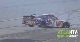 Kyle Busch crashes in final practice at Atlanta