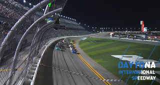 Sauter edges Gilliland for Stage 2 win at Daytona