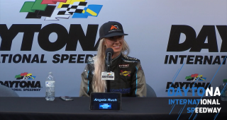 Angela Ruch ecstatic to earn top 10 at Daytona