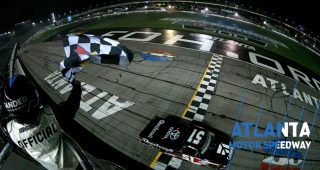 Final Laps: Busch makes history with Truck Series win at Atlanta
