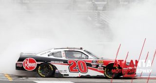 Christopher Bell burns it down after Supra's first win