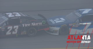 Allgaier displeased with Nemechek after Stage 2