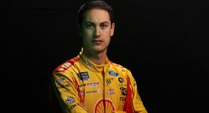 CHARLOTTE, NORTH CAROLINA - JANUARY 28: Monster Energy NASCAR Cup Series driver Joey Logano poses for a photo at the Charlotte Convention Center on January 28, 2019 in Charlotte, North Carolina. (Photo by Chris Graythen/Getty Images) | Getty Images