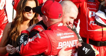 Allgaier's Daytona finish creates confidence as timing for win fell short