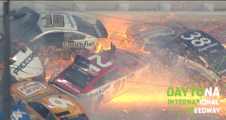 'Big One' strikes late involving 21 cars in Daytona 500