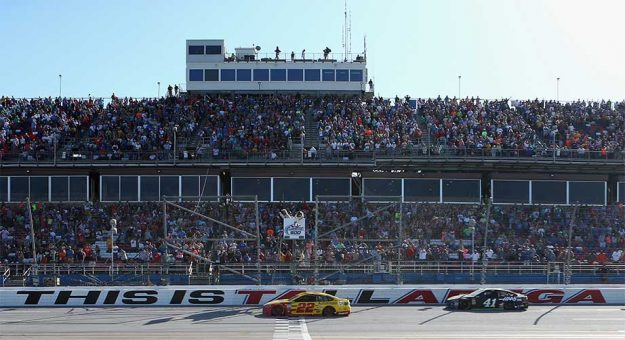 Joey Logano wins at Talladega