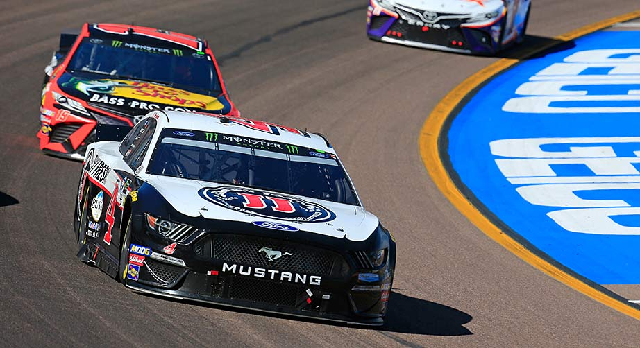After ninth-place run, Harvick has work to do at best track | NASCAR.com