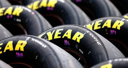 Goodyear updates right-side tire for Auto Club Speedway