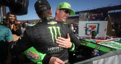Kurt Busch savors brother's accomplishment, aims for more after placing sixth