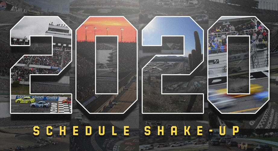 2020 NASCAR schedule unveiled, with plenty of changes | NASCAR.com