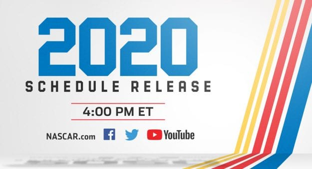 photo about Printable Nascar Schedule titled NASCAR Electronic in direction of unveil 2020 Cup routine within just are living exhibit