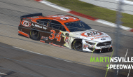 Hard hit for McDowell early at Martinsville