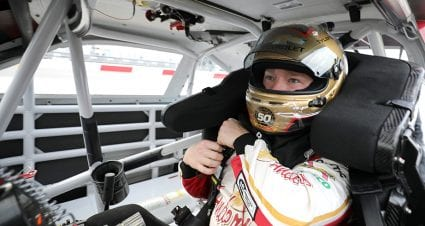 Power steering issues can't keep Tyler Reddick down and out