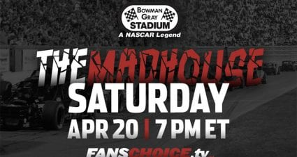Watch live: Weekend short-track action from the 'Madhouse'
