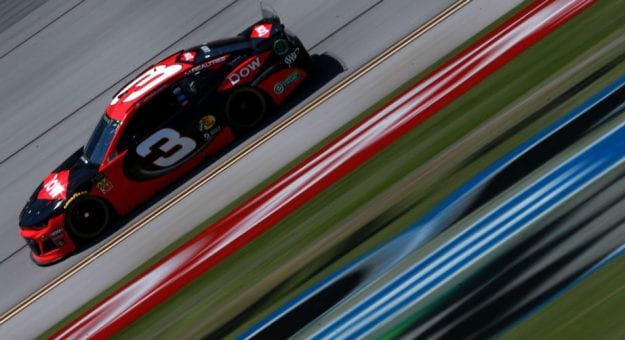 Austin Dillon's No. 3 car drives at Talladega