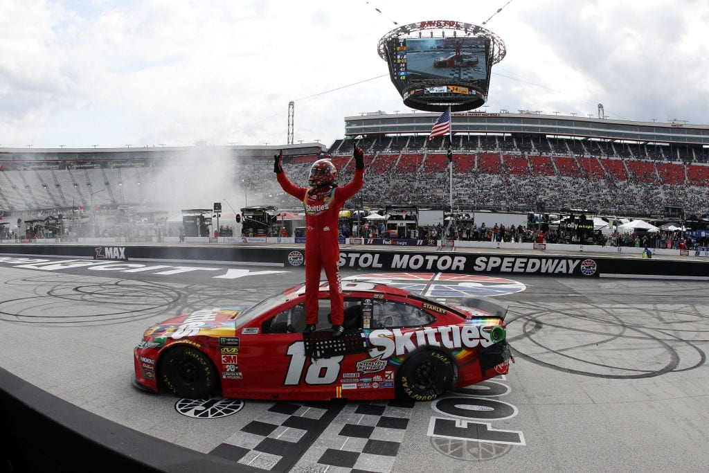 With luck on his side, Kyle Busch seems unstoppable | NASCAR.com