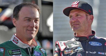 Harvick overcomes Bristol penalty while Bowyer misses opportunity