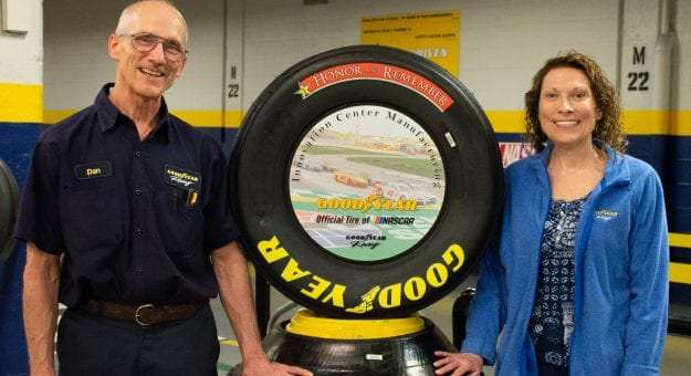 Goodyear Honor and Remember tires for NASCAR