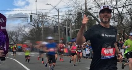 Jimmie Johnson finishes first Boston Marathon: 'It's been an amazing experience'