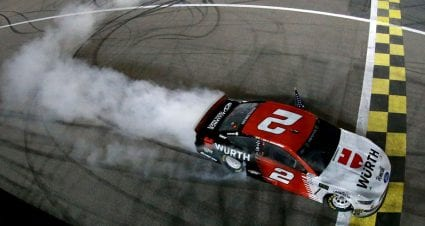 Keselowski's winning No. 2 entry clears post-race inspection at Kansas