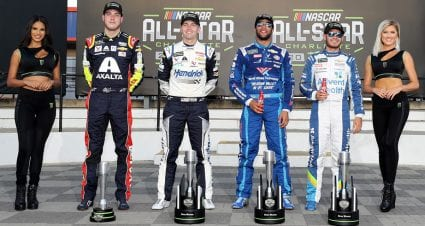 Larson, Wallace, Byron earn All-Star Race slots with Monster Energy Open stage wins