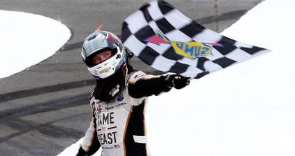 Tyler Reddick picks up first career win at Charlotte in dominant fashion