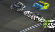 Late-race trouble for Penske teammates Blaney, Keselowski