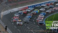 Coca-Cola 600 field honors fans with three-wide salute