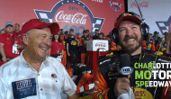 Truex, Morris remember veterans in Victory Lane