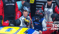 Hemric subs in for Dillon after broken crush panel