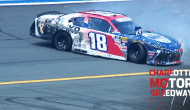 Earnhardt goes for a spin at Charlotte