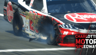 Fire erupts on pit road after blown tire for Bell