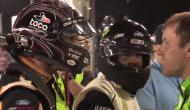 Alternate angle: Bowyer, Newman confront each other on pit road