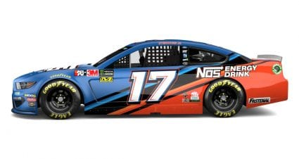 NOS Energy partners with Roush Fenway, No. 17 car