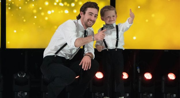 Ryan Blaney at Catwalk for a Cause